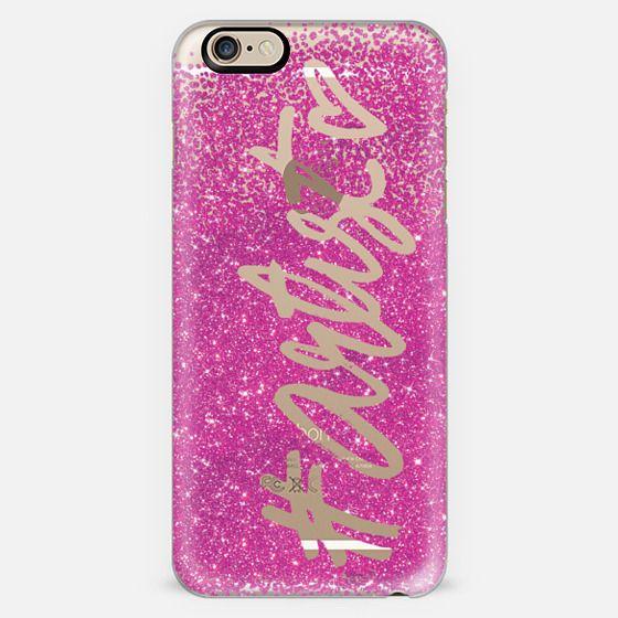 #Artist in Pink Glitter -