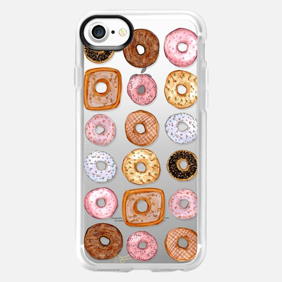 Donuts for Days Illustration by Joanna Baker - Classic Grip Case