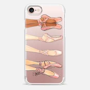 iPhone 7 Case Ballerina Trio Ballet Dance Illustration by Joanna Baker