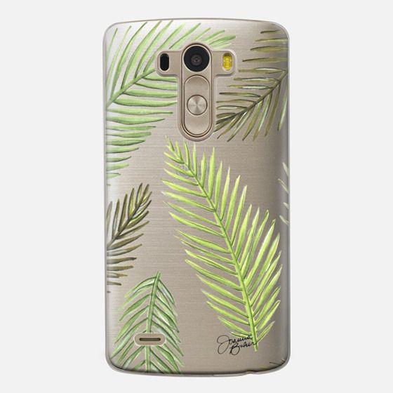 Palm Leaf Pattern Illustration by Joanna Baker