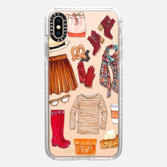 Fall Favorites Fashion Illustration by Joanna Baker