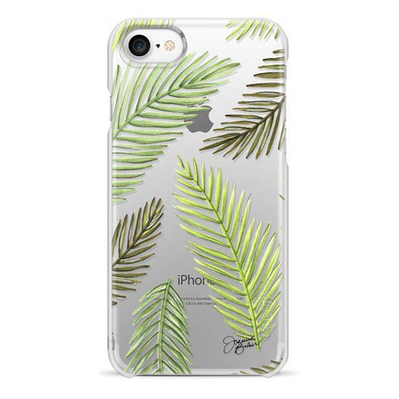 iPhone 7 Cases - Palm Leaf Pattern Illustration by Joanna Baker