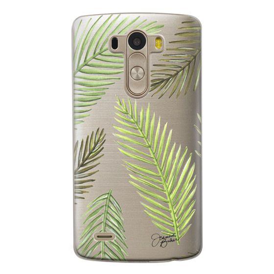 Lg G3 Cases - Palm Leaf Pattern Illustration by Joanna Baker