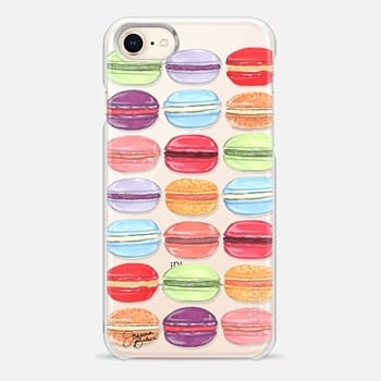 iPhone 8 Case Macaron Day Sweet Treat Illustration by Joanna Baker
