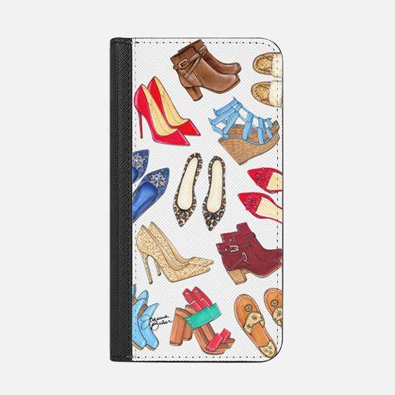 Shoe Lover Fashion Illustration by Joanna Baker