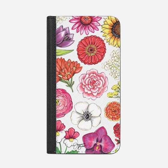 Vibrant Blooms Floral Illustration by Joanna Baker