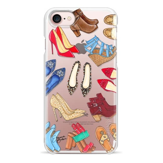 iPhone 7 Cases - Shoe Lover Fashion Illustration by Joanna Baker