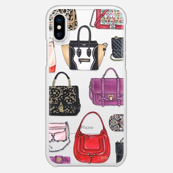 It Bag Fashion Handbag Illustration by Joanna Baker - Snap Case