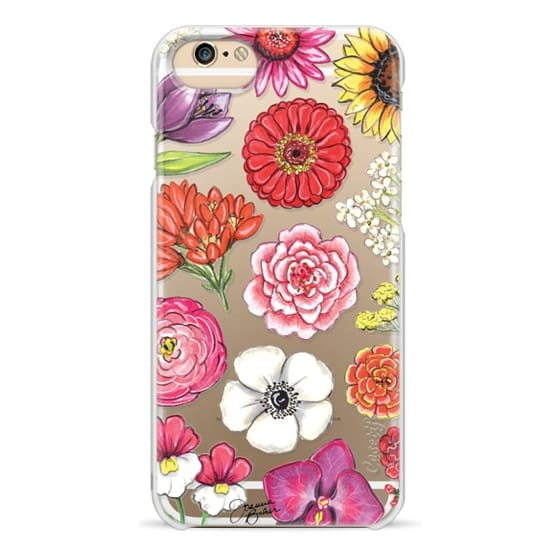 iPhone 6s Cases - Vibrant Blooms Floral Illustration by Joanna Baker