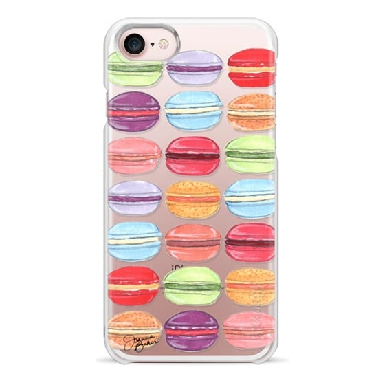 iPhone 7 Cases - Macaron Day Sweet Treat Illustration by Joanna Baker