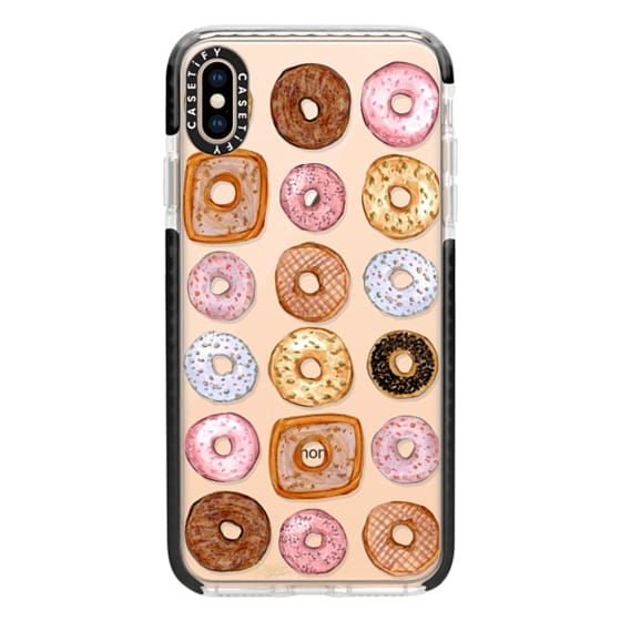 iPhone XS Max Cases - Donuts for Days Illustration by Joanna Baker