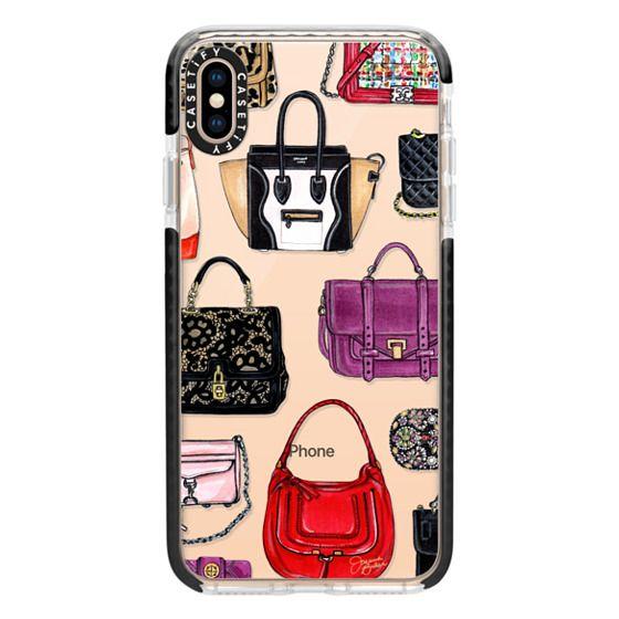 iPhone XS Max Cases - It Bag Fashion Handbag Illustration by Joanna Baker