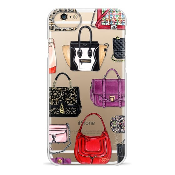 iPhone 6s Cases - It Bag Fashion Handbag Illustration by Joanna Baker
