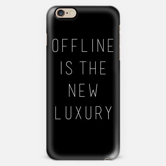 Offline is the New Luxury -