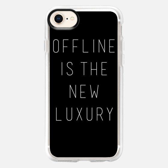 Offline is the New Luxury - Snap Case