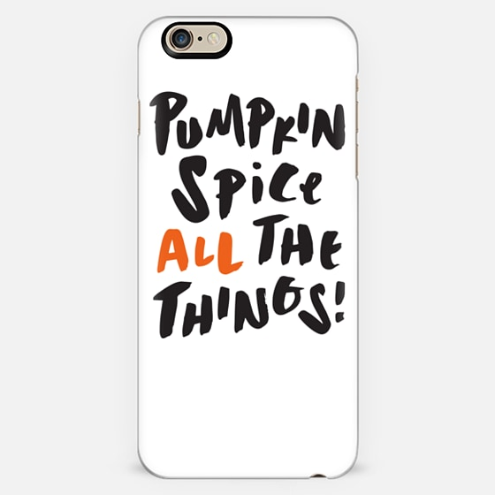 Pumpkin Spice White -