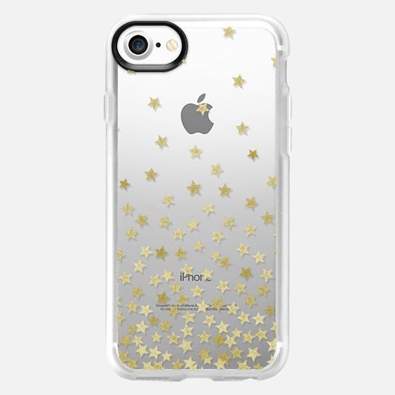 STARS GOLD transparent - Wallet Case