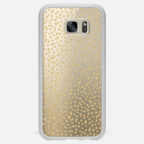 GOLD STARS CONFETTI - Classic Snap Case
