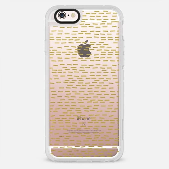 GOLD STRIPES transparent - New Standard Case