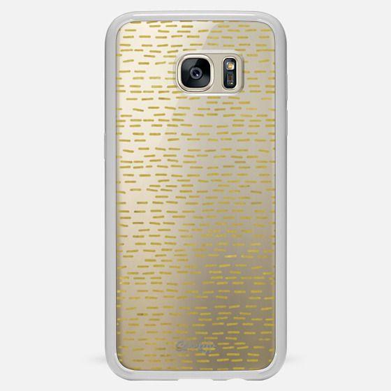 GOLD STRIPES transparent
