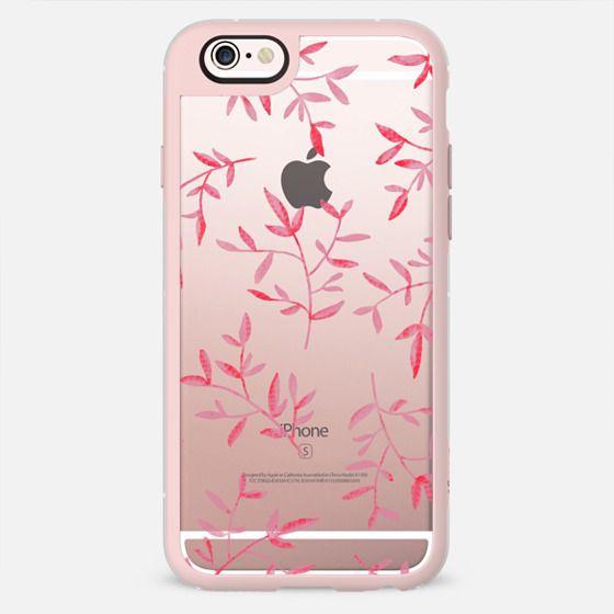 PINK LEAVES - New Standard Pastel Case