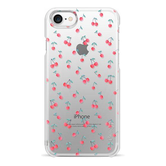 iPhone 7 Cases - CHERRY transparent