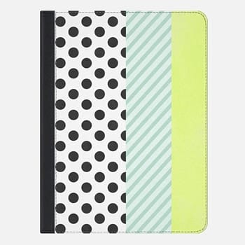 iPad Air 2 ケース DOTS & STRIPES COVER