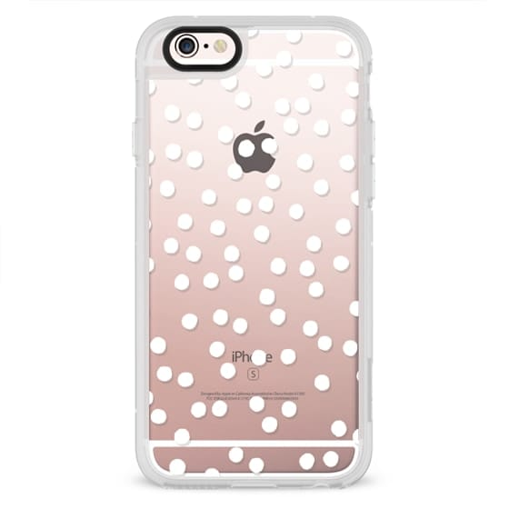 iPhone 6s Cases - DOTS DOTS DOTS white