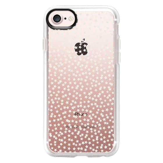 iPhone 7 Cases - SILVER STARS CONFETTI
