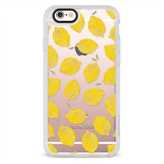 iPhone 6s Cases - LEMON TRANSPARENT