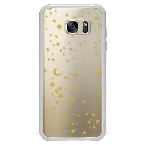Samsung Galaxy S7 Edge Cases - GOLD SKY