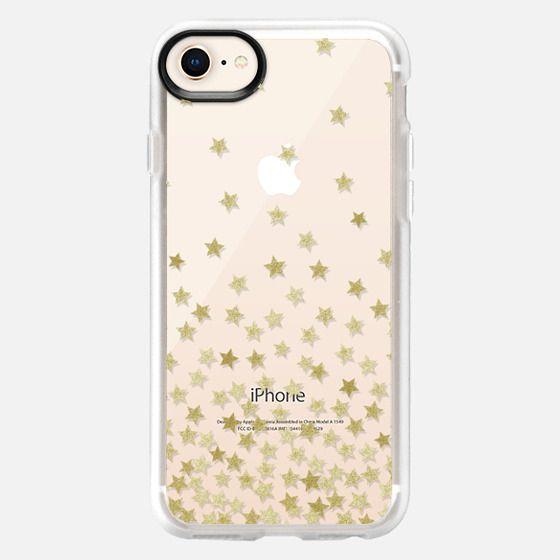 STARS GOLD transparent - Snap Case