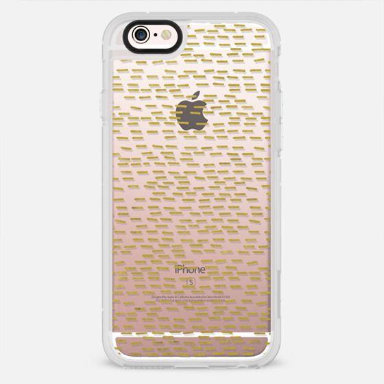 GOLD STRIPES transparent - New Standard Case