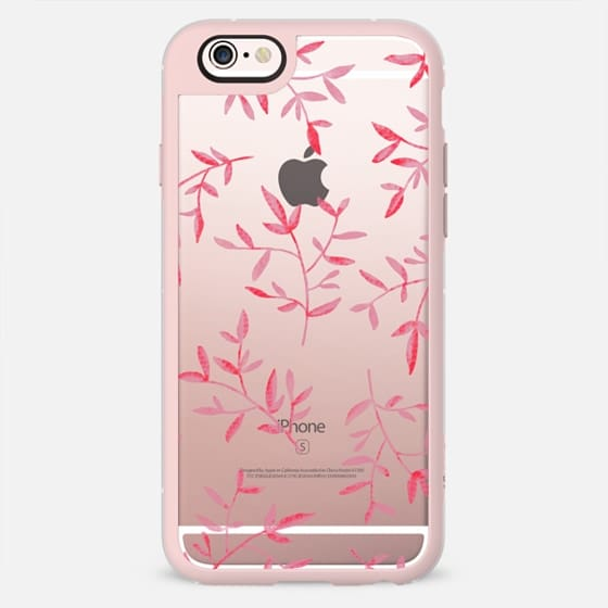 PINK LEAVES - New Standard Pastel Case