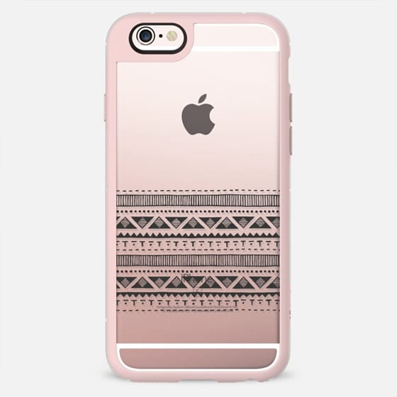 BLACK TRIBAL - New Standard Pastel Case