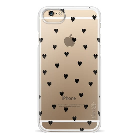 iPhone 6 Cases - HEARTS transparent