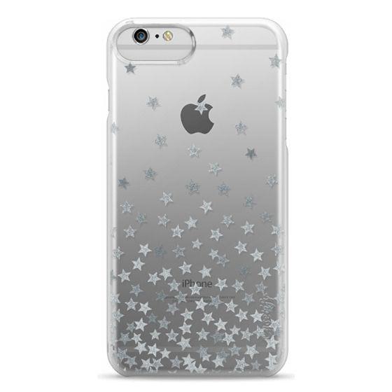 iPhone 6 Plus Cases - STARS SILVER transparent