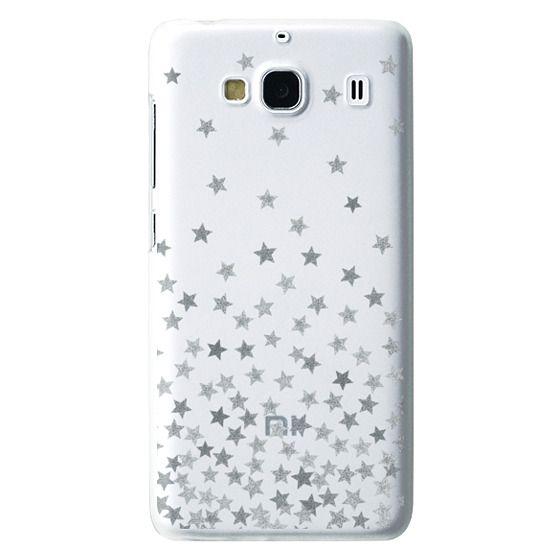 Redmi 2 Cases - STARS SILVER transparent