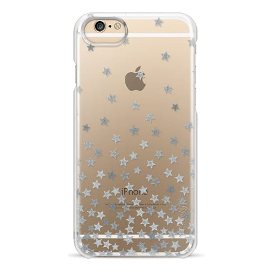 iPhone 4 Cases - STARS SILVER transparent