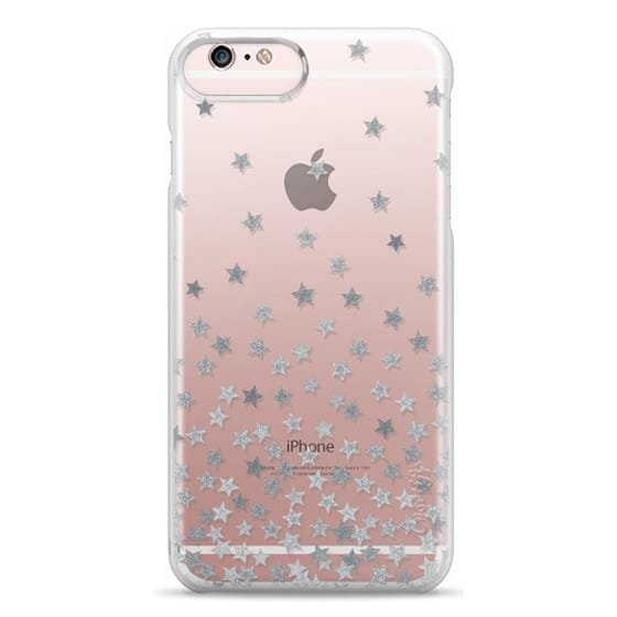 iPhone 6s Plus Cases - STARS SILVER transparent