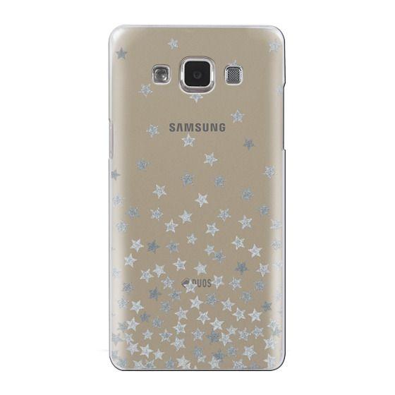 Samsung Galaxy A5 Cases - STARS SILVER transparent