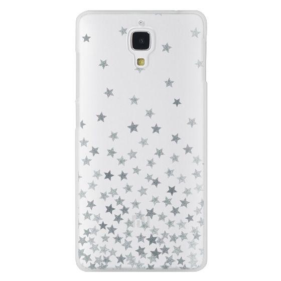 Xiaomi 4 Cases - STARS SILVER transparent