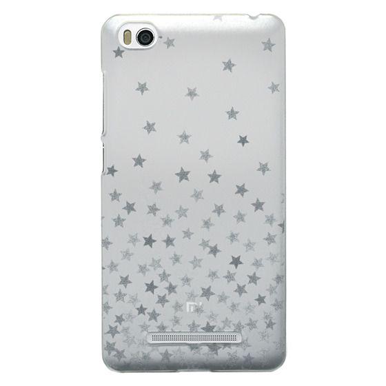 Xiaomi 4i Cases - STARS SILVER transparent