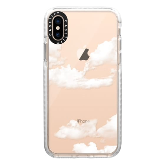 iPhone XS Cases - clouds