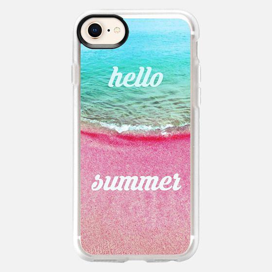 hello summer - Snap Case