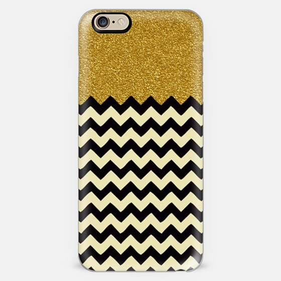 CHEVRON GOLDEN GLITTER -