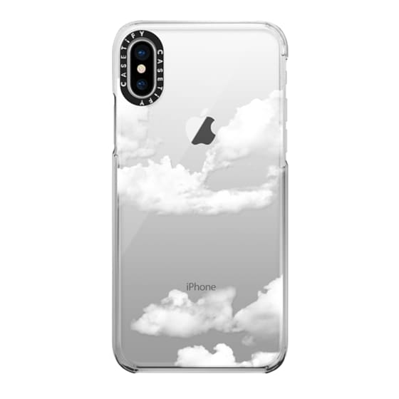 iPhone X Cases - clouds