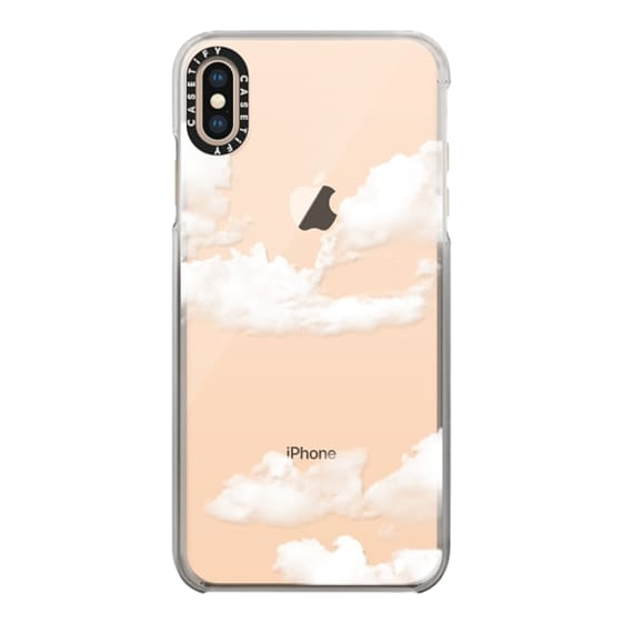 iPhone XS Max Cases - clouds