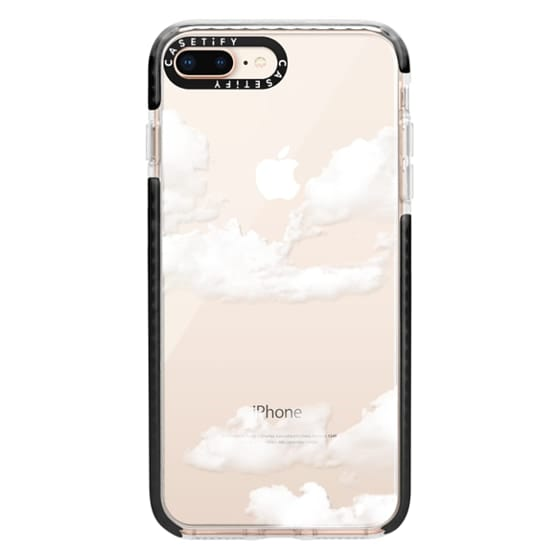 newest 44807 8300b Impact iPhone 8 Plus Case - clouds