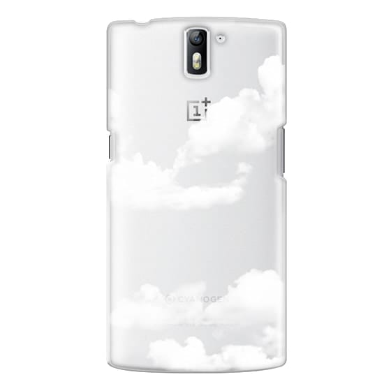One Plus One Cases - clouds